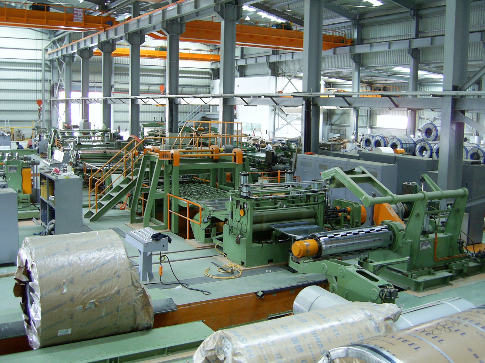 Automatic Steel Coil Slitting Line - SF-160 / SF-180 / SF-220 / SF-250 / SF-280. Slitting Machine, Slitting Lines, Automatic Steel Sheet Slitting Machine